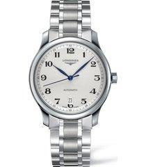 longines master automatic bracelet watch, 38.5mm