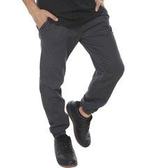pantalon jogger twill gris oscuro corona