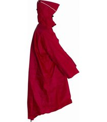 lowland outdoor wandelponcho lowland red xl
