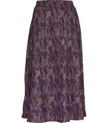 carol skirt lång kjol lila minus