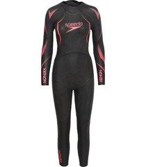 xenon fullsuit wetsuit w baddräkt badkläder svart speedo