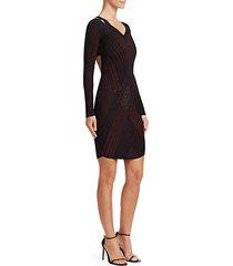 lurex mini dress