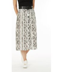 laundry by shelli segal belted skirt