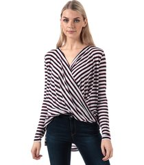 womens irene honie wrap top