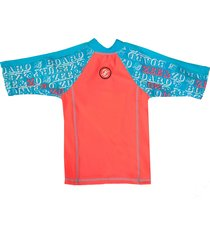 zee & zo zee & zo coral uv werend t-shirt gran canaria rood