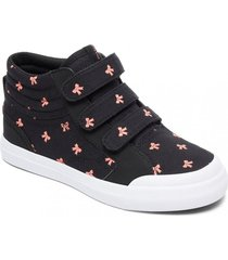 zapatilla evan hi v - high-top negro dc