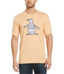 original penguin men's applique logo graphic t-shirt