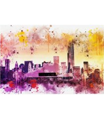 """philippe hugonnard nyc watercolor collection - at the top canvas art - 15.5"""" x 21"""""""