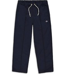 champion men's straight-leg drawstring pants - black - size xl