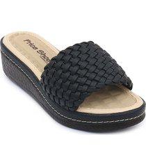 priceshoes sandalia confort dama 6922733negro
