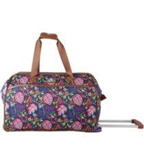 carry-on softside rolling duffel bag