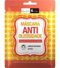 máscara facial beauty 4 fun anti oleosidade 1 un
