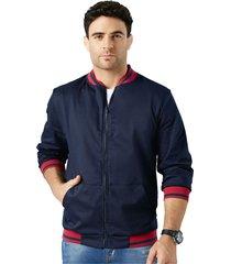 chaqueta adulto masculino azul oscuro marketing  personal