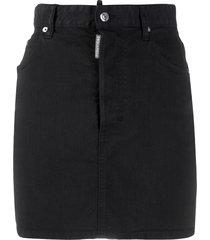 dsquared2 icon skirt - black