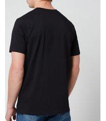 a.p.c. men's item t-shirt - black - xxl