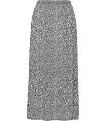 ihmarrakech aop sk3 knälång kjol grå ichi