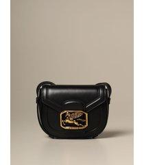 etro mini bag pegaso etro shoulder bag in leather