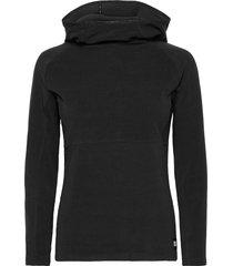 pw solo fleece sweat-shirts & hoodies fleeces & midlayers zwart o'neill