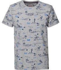 petrol industries shirt 9038 light grey melee