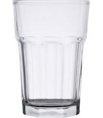 conjunto 6 copos altos bon gourmet allure em vidro 425ml rojemac