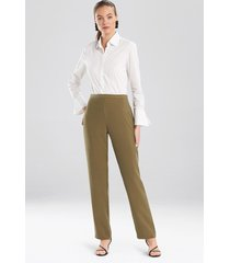 natori sanded twill pants, women's, size 2
