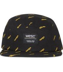 wesc men's printed cap