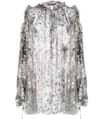 alexander mcqueen blouses