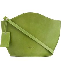 marsèll structured tote bag - green