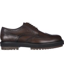 scarpe stringate classiche uomo in pelle derby bucature extra light