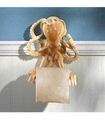 design toscano tentacles bathroom toilet paper holder bedding