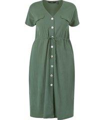 klänning vminamaria ss wide calf shirt dress