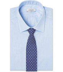 cravatta su misura, lanieri, firenze seta blu notte, quattro stagioni | lanieri