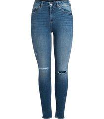 jeans mid waist skinny fit