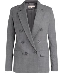 double-breasted derby blazer