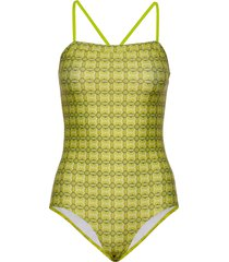 ibiza swimma baddräkt badkläder gul mads nørgaard