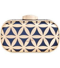 inc flower cage clutch, created for macy's