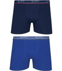 kit 10 cuecas boxer lupo cós elástico algodão masculino