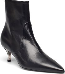 furla code shoes boots ankle boots ankle boot - heel svart furla