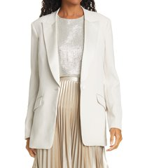 women's rag & bone kaia tuxedo jacket, size 10 - grey