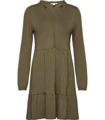 dresses knitted dresses everyday dresses grön edc by esprit