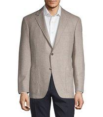 regular-fit wool & cashmere blend blazer