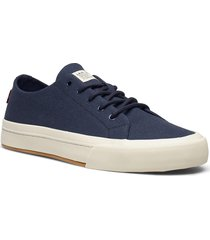 summit low låga sneakers blå levi's shoes