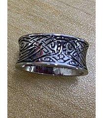 anillo de plata para hombre vendimia