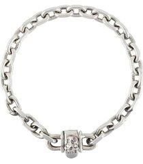 emanuele bicocchi chunky chain-link bracelet - metallic