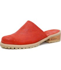 sandalia aires cruces dfo rojo kebba
