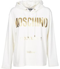 moschino sweatershirt over