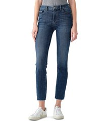 dl1961 mara instasculpt ankle straight leg jeans, size 26 in chancery - performance at nordstrom