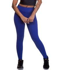 calça  legging miss blessed premium montaria azul