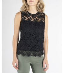 nanette nanette lepore sleeveless lace top
