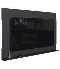 painel de parede para tv art in móveis dakota até 55 pol preto